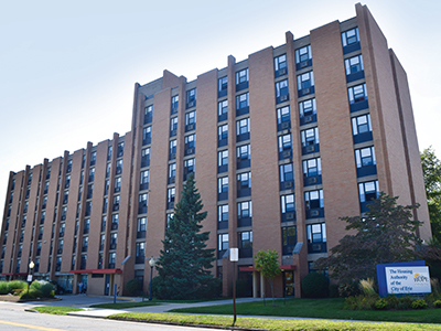Image of Joseph A. Schmid Towers in Erie, Pennsylvania
