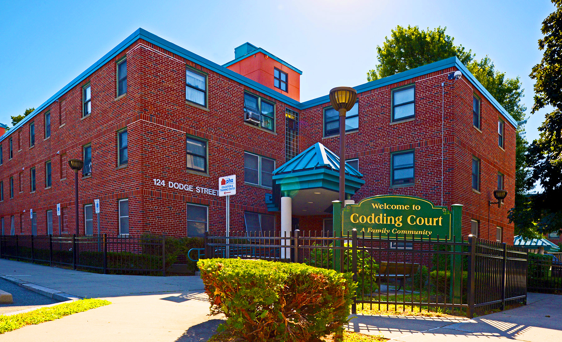 Image of Codding Court in Providence, Rhode Island