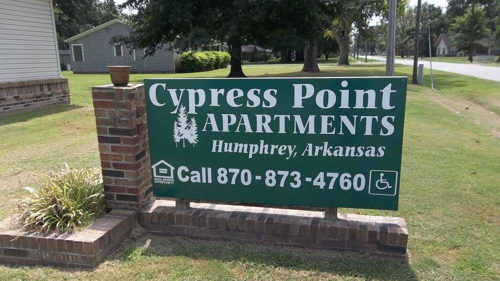 Image of Cypress Point Apartments in Humphrey, Arkansas