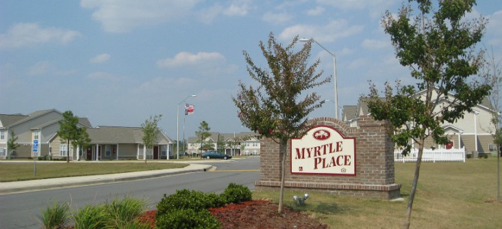 Image of Myrtle Place Apartments in Goldsboro, North Carolina