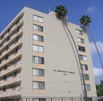 Image of St Timothy's Towers in Compton, California