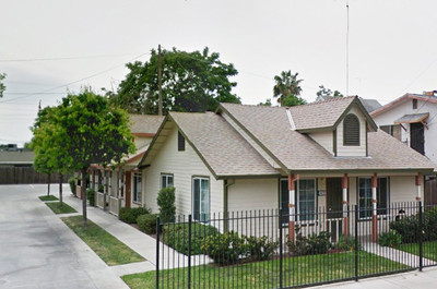 Image of Church Street Triplex in Stockton, California