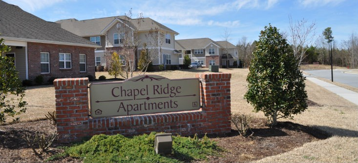 Image of Chapel Ridge Apartments in Roanoke Rapids, North Carolina
