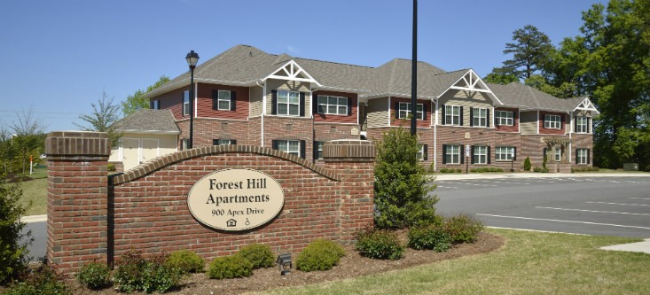 Image of Forest Hill Apartments in Lexington, North Carolina