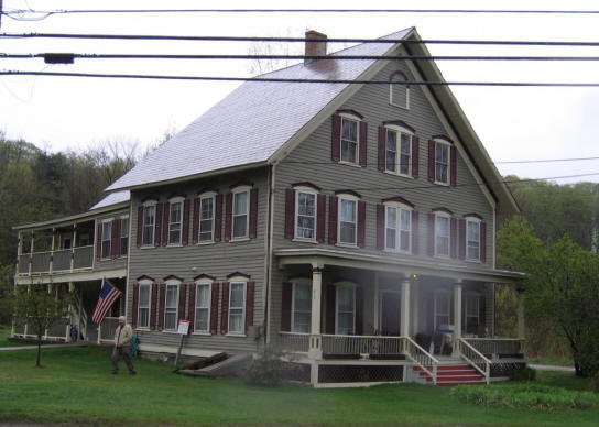 Image of Depot Street in Chester, Vermont