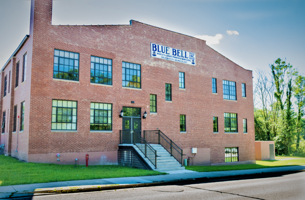 Image of Historic Blue Bell Lofts in Columbia City, Indiana