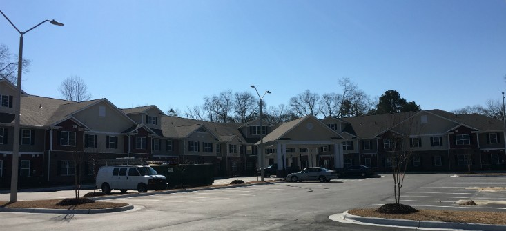 Image of Sandy Ridge Apartments in Raeford, North Carolina