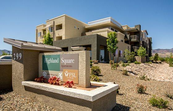 Image of Highland Square Apartments in Cottonwood, Arizona
