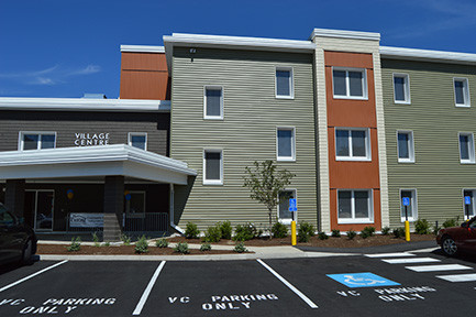 Image of Village Centre Family Apartments in Brewer, Maine
