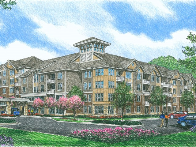 Image of  The Mulberry Senior Living Apartments in Charlotte, North Carolina