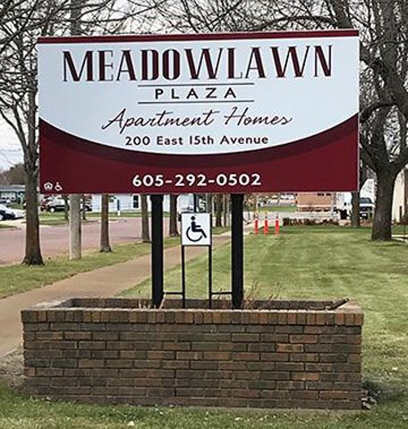 Image of Meadowlawn Plaza in Mitchell, South Dakota