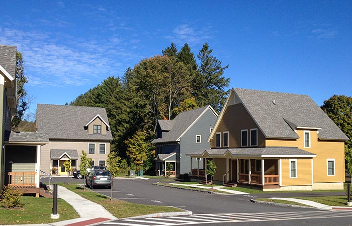 Image of Safford Commons in Woodstock, Vermont