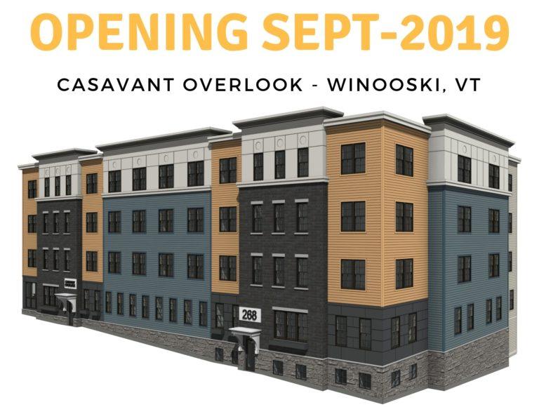 Image of Casavant Overlook Apartments in Winooski, Vermont