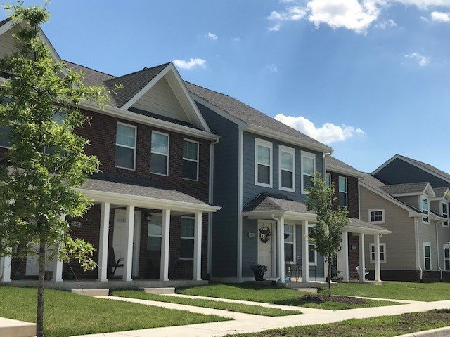 Image of Washburn Place Townhomes in Marshall, Virginia
