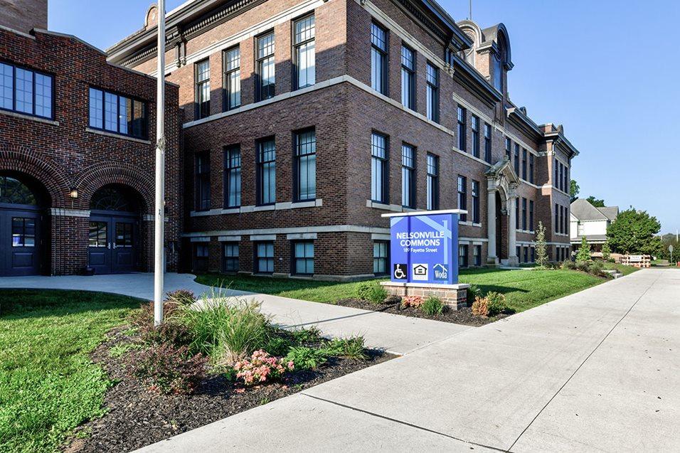 Image of Nelsonville School Commons