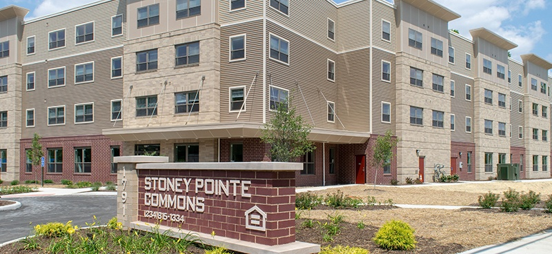 Image of Stoney Pointe Commons in Akron, Ohio