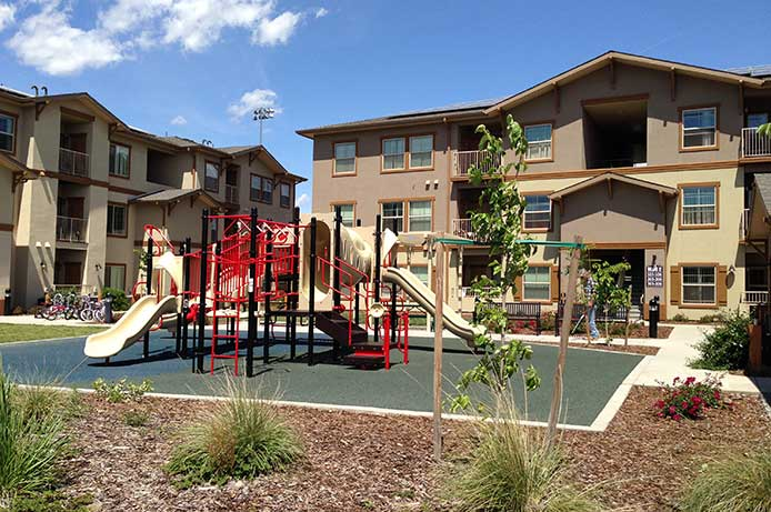Image of North Point Apartments in Chico, California