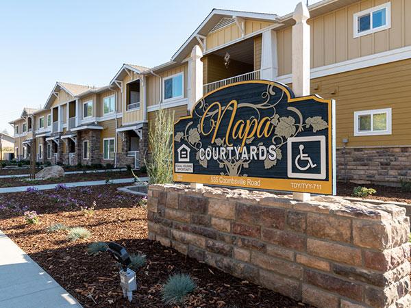 Image of Napa Courtyard Apartments in Napa, California