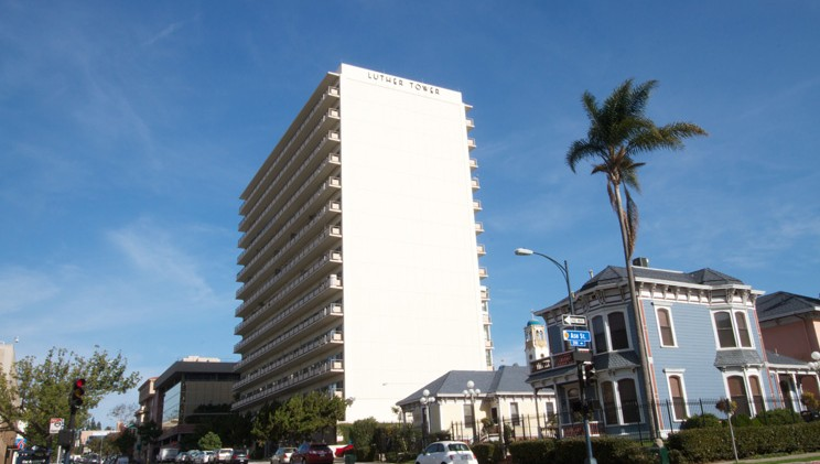 Image of Luther Tower Apartments in San Diego, California