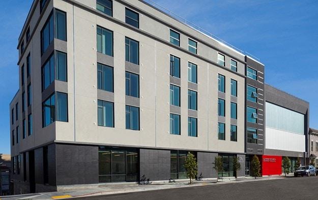 Image of John Burton Housing Complex in San Francisco, California