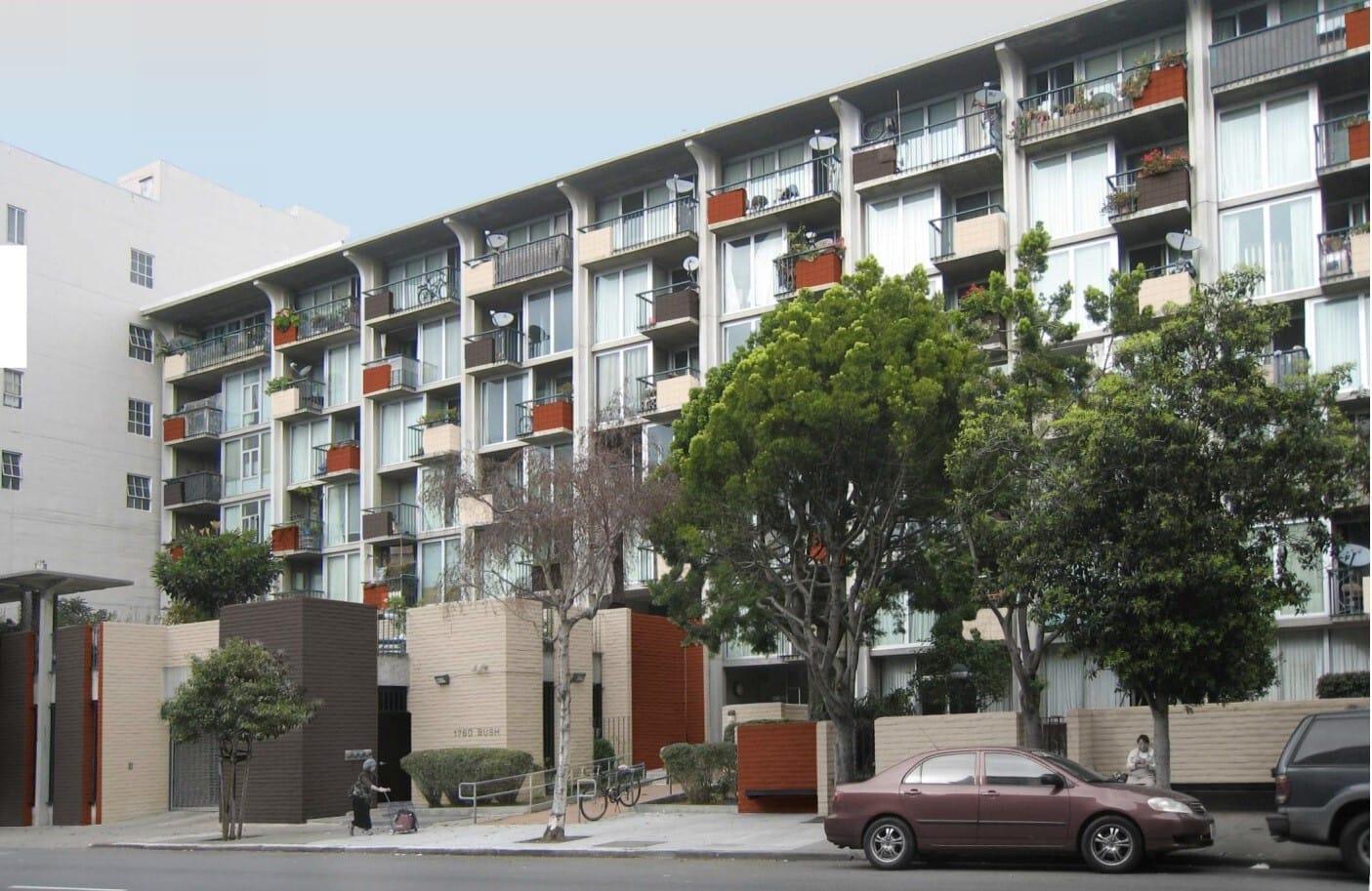 Image of 1760 Bush Apartments in San Francisco, California