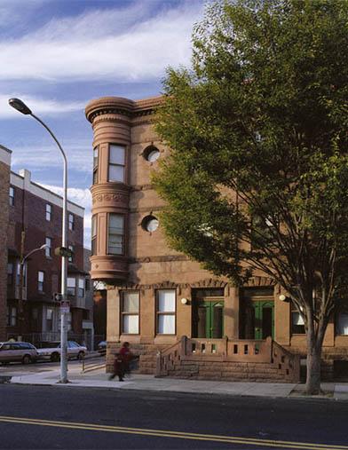 Image of Brownstones at Diamond Street in Philadelphia, Pennsylvania
