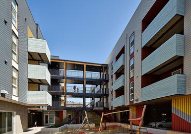 Image of Edwina Benner Plaza