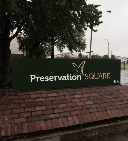 Image of Preservation Square in St. Louis, Missouri