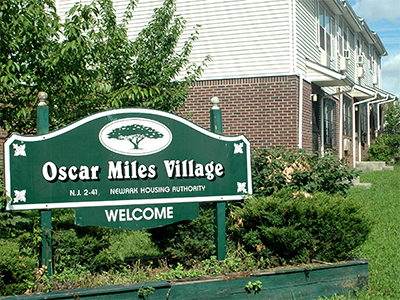 Image of Oscar Miles Village in Newark, New Jersey