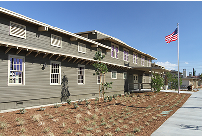 Image of Home Front at Camp Anza in Riverside, California