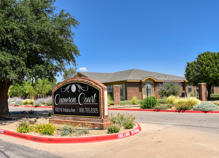 Image of Cameron Court Apartments in Lubbock, Texas