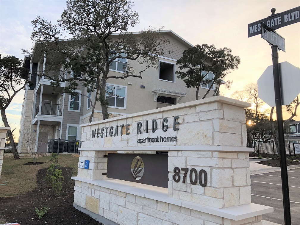 Image of West Gate Ridge Apartment Homes in Austin, Texas
