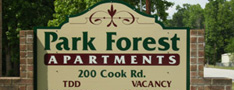 Image of Park Forest Apartments in Liberty, Texas