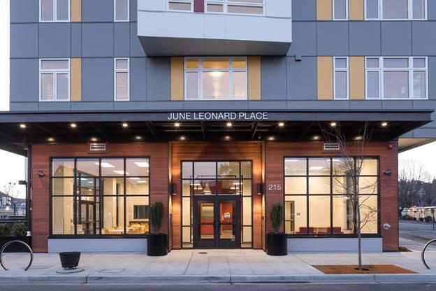 Image of June Leonard Place in Renton, Washington