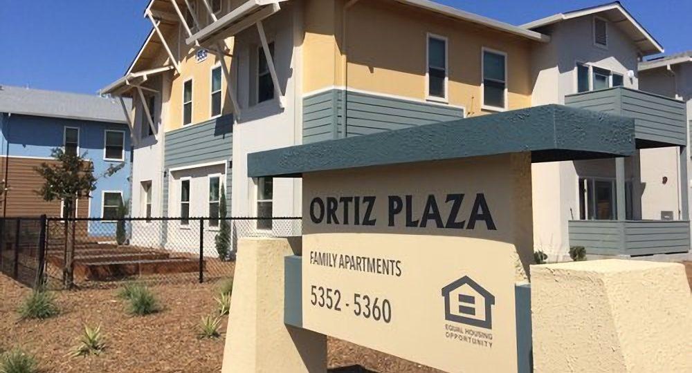 Image of Ortiz Plaza in Santa Rosa, California