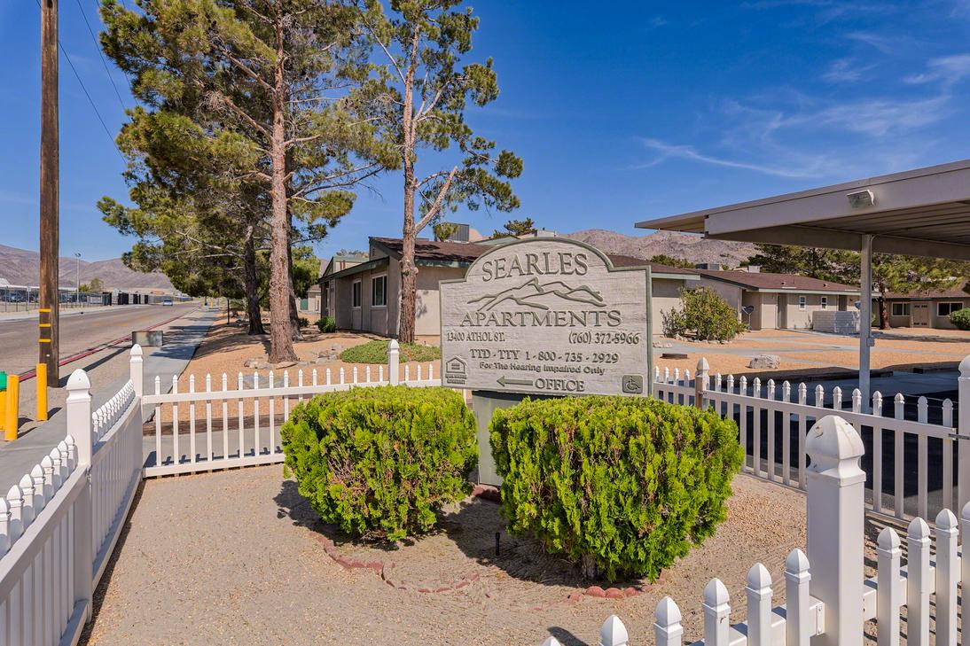 Image of Searles Apts in Trona, California