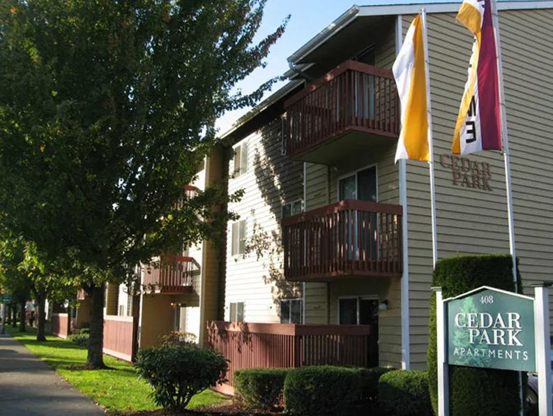 Image of Cedar Park Apartments in Renton, Washington