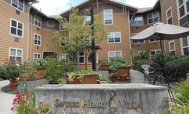 Image of Caritas Sacred Heart Villa in Portland, Oregon