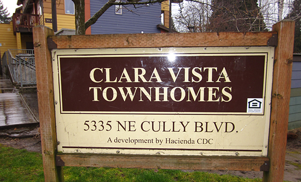 Image of Clara Vista Townhomes in Portland, Oregon