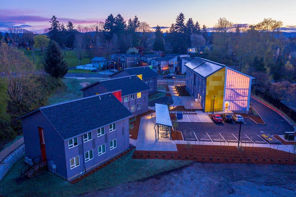 Image of Argyle Gardens in Portland, Oregon