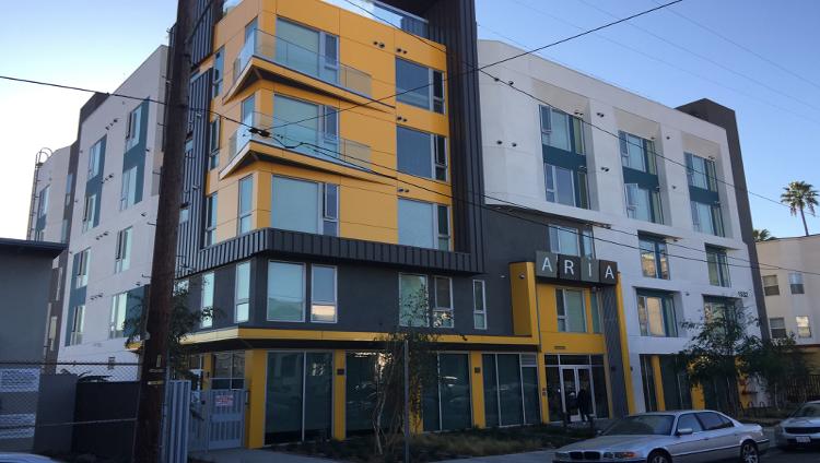 Image of Aria Apartments in Los Angeles, California