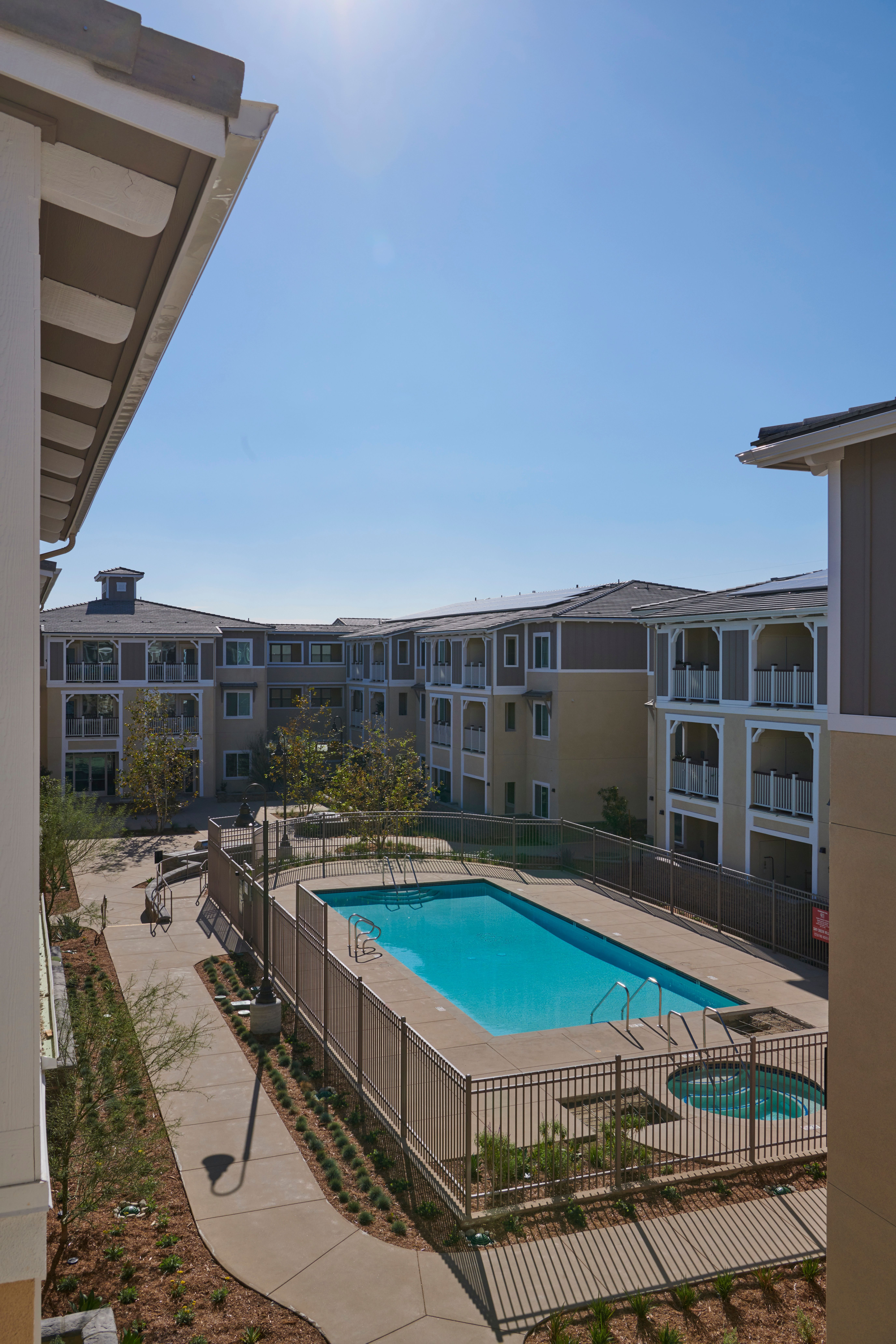 Image of Day Creek Senior Villas in Rancho Cucamonga, California