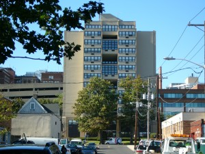 Image of Widnall Towers in Hackensack, New Jersey