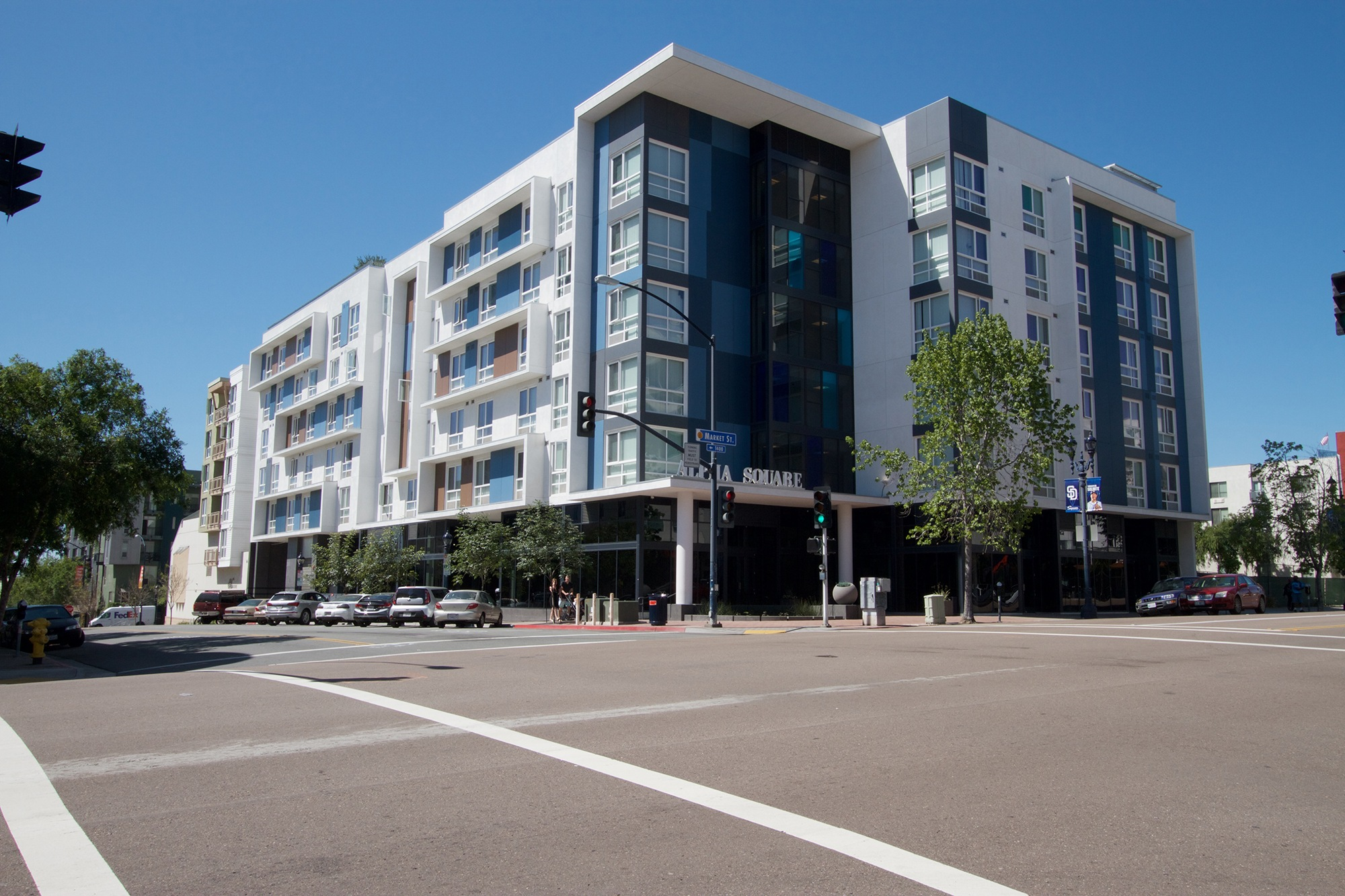 Image of Alpha Square Apartment Homes in San Diego, California