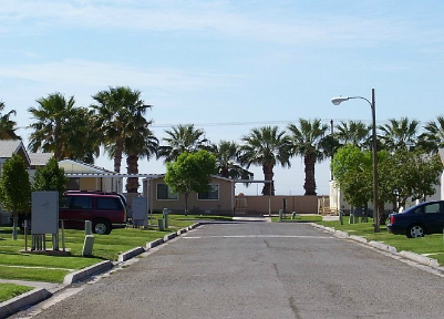 Image of Tres Palmas Village in Brawley, California
