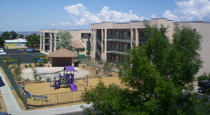 Image of Las Palomas Apartments in Santa Fe, New Mexico