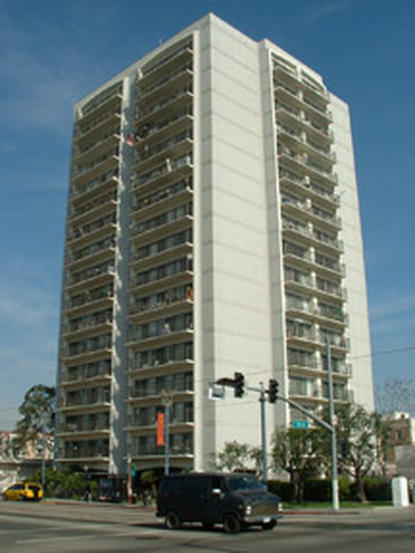 Image of Park Pacific Tower for Seniors in Long Beach, California