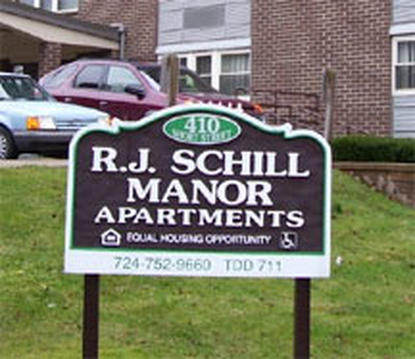 Image of RJ Schill Manor in Ellwood City, Pennsylvania