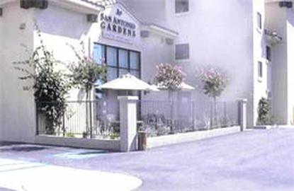 Image of San Antonio Gardens Senior Apartments in Norwalk, California