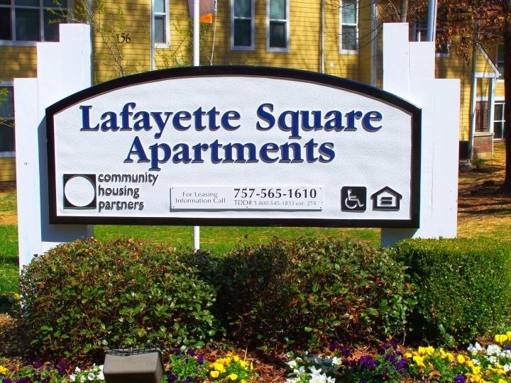 Image of Lafayette Square in Williamsburg, Virginia